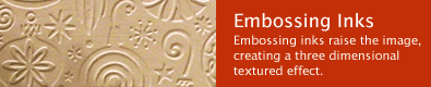Embossing Ink Products
