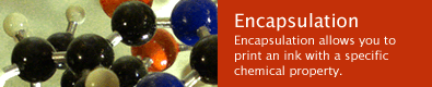 Encapsulation Ink Products